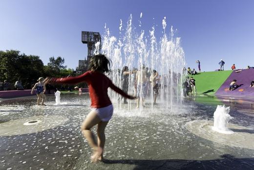 طراحی پارک ، نمونه پارک ، معماری پارک